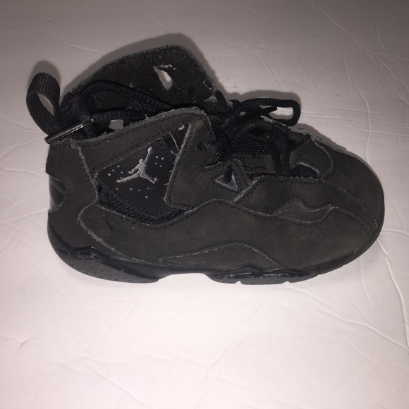 official photos b582b e7ae7 Nike Air Jordans Retro 7 Black toddler Kids 9c